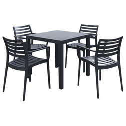 Contemporary Outdoor Dining Sets by Homesquare