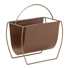 Blake Magazine Rack, Brown