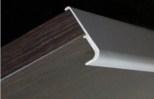 Aluminum extruded handles continuous pulls aluminum extruded handle lungo cabinet and drawer handle pulls sciox Images