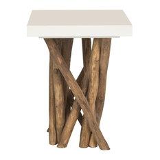 Safavieh Hartwick Side Table, White