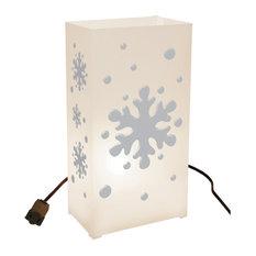 Electric Luminaria Kit Snowflake