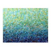 """""""Tropical Ocean"""" Original Art"""