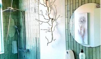 Modern Glass Washroom