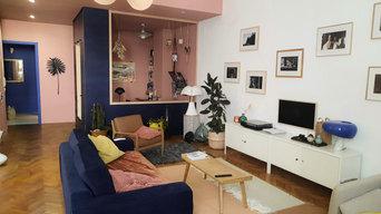 Rénovation d'un appartement de 110 m2.