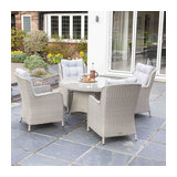 Astor 4 Seat Round Dining Set
