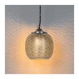 Oriental Pendant Lamp Steel - Sinbad 4