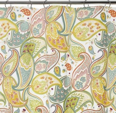 Curtains Ideas blue paisley shower curtain : Guest Picks: Shower Curtains Make a Splash