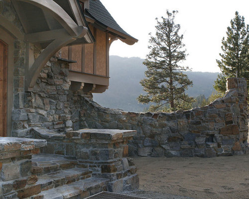 Wondrous Stone Front House Ideas Pictures Remodel And Decor Inspirational Interior Design Netriciaus
