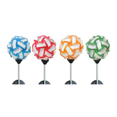 Solar Abstract Garden Stakes, Assorted Pack of 20