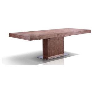 Ponte Walnut Veneer Extendable Dining Table