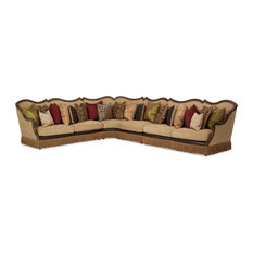 Michael Amini   Victoria Palace 4 Piece Sectional Sofa   Sectional Sofas
