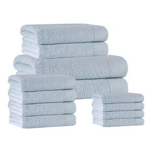 Signature 14-Piece Towel Set, Water Fall