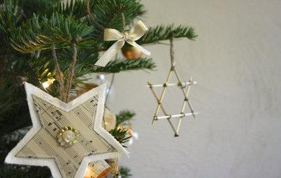 DIY: 4 способа сделать новогодние украшения из бумаги своими руками