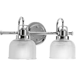 Cute Traditional Bathroom Vanity Lighting by Progress Lighting