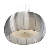 Hanging lamp Relax with lampshade in chrome