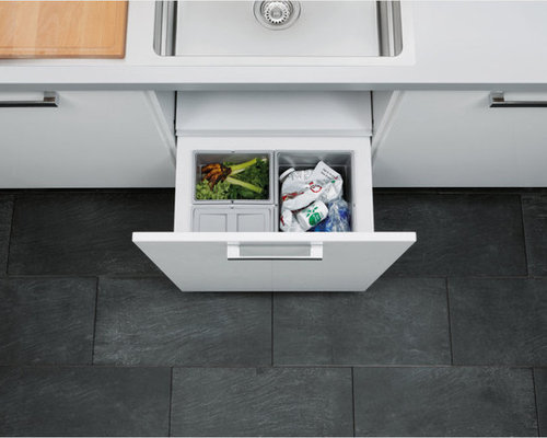 Under Sink Garbage Bins Houzz