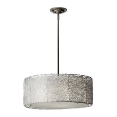Most popular stainless steel chandeliers for 2018 houzz feiss monte carlo murray feiss f27023 wired 3 light chandelier chandeliers mozeypictures Gallery