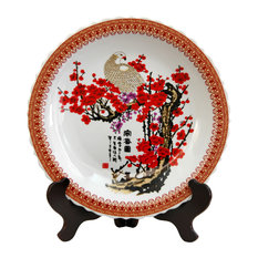 14 in. Dia. Cherry Blossom Porcelain Plate