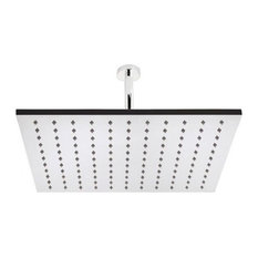 """15"""" Square Ceiling Mounted Shower Head In Chrome"""