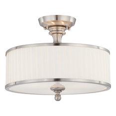 1st Avenue   Jolene Semi Flush Ceiling Light   Flush Mount Ceiling Lighting