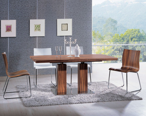 Extendable Rectangular Wooden Italian 5 Piece Kitchen Set With Chairs   Dining  Tables Part 82