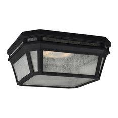 OL11313BK-LED Londontowne LED Outdoor Flush Mount, Black
