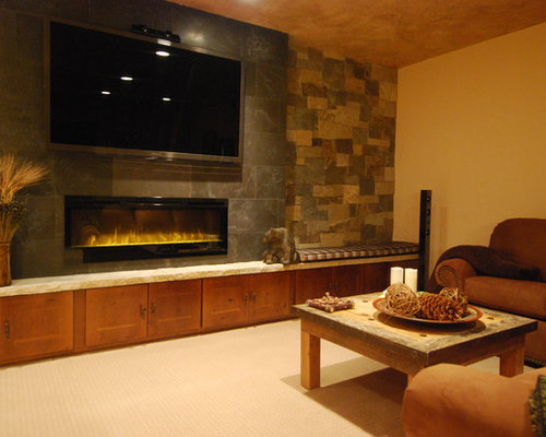 saveemail design one interiors - Electric Fireplace Design Ideas