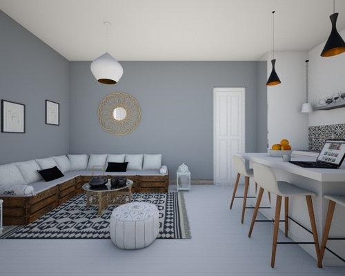 Simulation 3d cuisine salon style ethnique for Simulation 3d salon