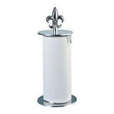 Find paper towel holders on houzz - Fleur de lis towel rack ...