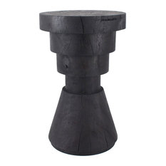 Pfeifer Studio - Aparato Side Table, Ebony - Side Tables and End Tables