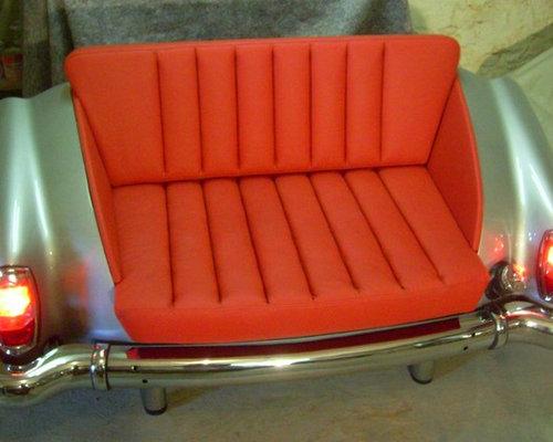 sofas und sessel aus autos autom bel. Black Bedroom Furniture Sets. Home Design Ideas