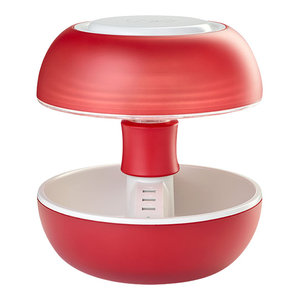 Joyo Translucent Table Lamp, Red