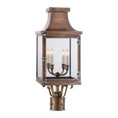 Bedford Post Lantern, Natural Copper
