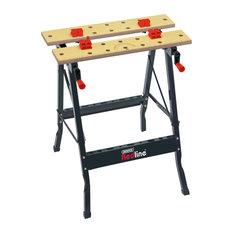 Draper Tools Folding Workbench, Black