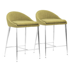 Reykjavik Counter Chair, Set of 2, Pea