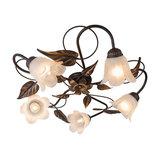 Ceiling Lamp Noale 5 Rust