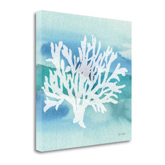 """Sea Life Coral II"" By Lisa Audit, Giclee Print on Gallery Wrap Canvas"