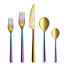 5-Piece Place Setting Linea, Rainbow