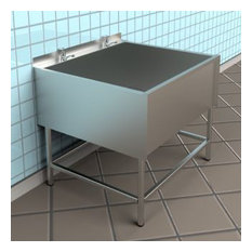 Large Utility Sink - Stainless Steel