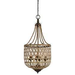 Beach Style Pendant Lighting by Forty West Designs