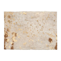 Cowhide Gold Placemats