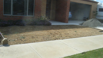 Synthetic Lawn Installation Photos