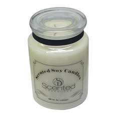 Pine Needle Scented Soy Candle In Apothecary Jar, 26 Oz.