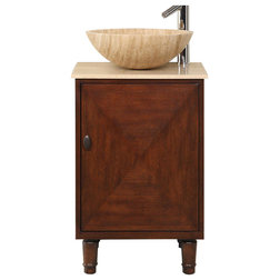 Transitional Bathroom Vanities And Sink Consoles by Silkroad Exclusive Inc