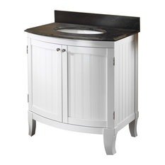 remarkable curved front bathroom vanity   Curved Front Bathroom Vanities   Houzz