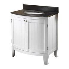 1st Avenue Clara Bathroom Vanity With Granite Top 30 Vanities And