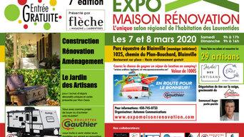 EXPO MAISON RÉNOVATION DES LAURENTIDES 7È ÉDITION MARS 2020