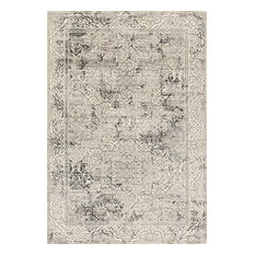 "Loloi Rugs Kingston Ivory and Gray, 3'10""x5'7"""
