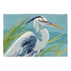Blue Heron Indoor Rug