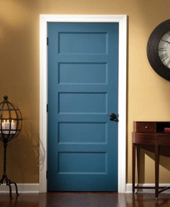 See it //.lyndendoor.com/products/molded/conmore or here //pinterest.com/lyndendoor/molded-doors/ (See its arts \u0026 crafts cousin ... & Five-Panel Doors Unlock Style